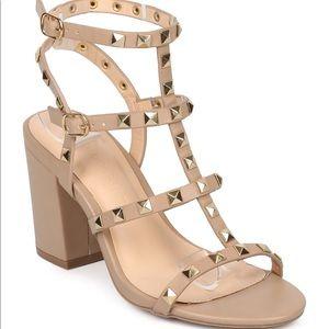 Wild diva studded sandals